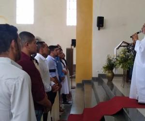 Casamentos Comunitários na paróquia Nossa Senhora da Conceição, em Palmeira-PE