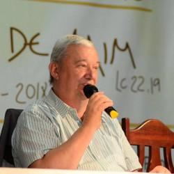 Frei Hans, fundador da Fazenda da Esperança deu seu belíssimo testemunho no 6º Congresso Eucarístico de Garanhuns