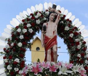 Encerramento da Festa de São Sebastião em Lajedo