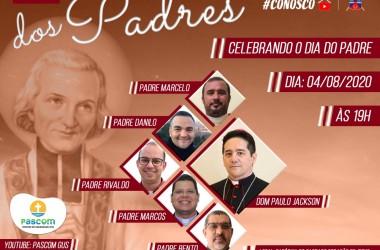 Live em comemoração ao dia do padre