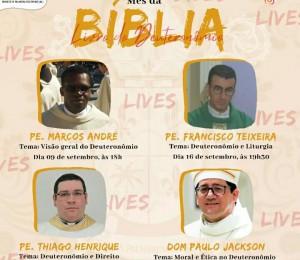 Diocese de Palmeira dos Índios realiza Lives no mês da Bíblia