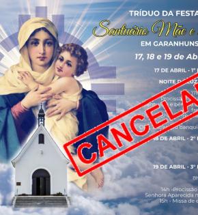 Santuário da Mãe Rainha Cancela Eventos