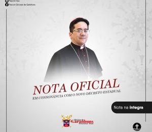 Nota da Cúria Diocesana