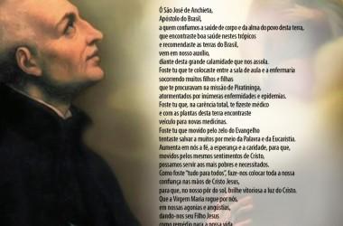 Padre cria Oração a São José de Anchieta para enfrentamento à pandemia de Covid-19