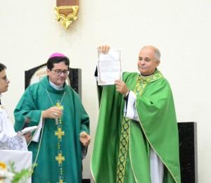 Novo Pároco de São Sebastião - Garanhuns - PE
