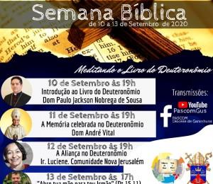 Semana Bíblica é vivenciada na Diocese de Garanhuns