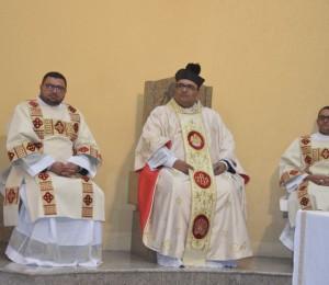 Antônio e Edjalma os dois novos diáconos da Paróquia de Santo Antônio em Lajedo