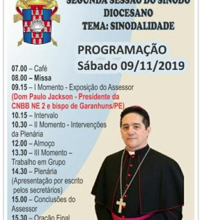 Bispo de Garanhuns assessora a 2ª sessão do sínodo de Caicó/RN