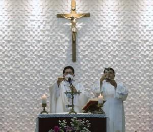 Abertura da Festa de Nossa Senhora Aparecida (Comunidade Dom Tiago Postma) Paróquia de Santo Antônio Catedral