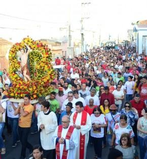 Festa na Paróquia de São Sebastião em Garanhuns
