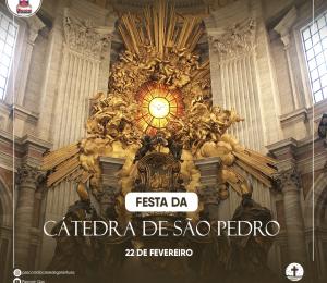 Hoje celebramos o Dia da Cátedra de São Pedro,